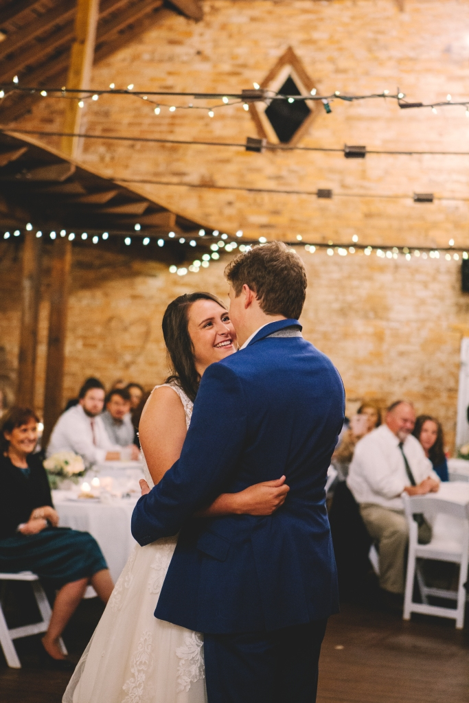 First dance at Sleepy Hollow in Clemson, South Carolina.
